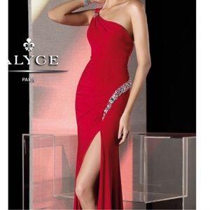 Alyce Paris Red Prom Dress
